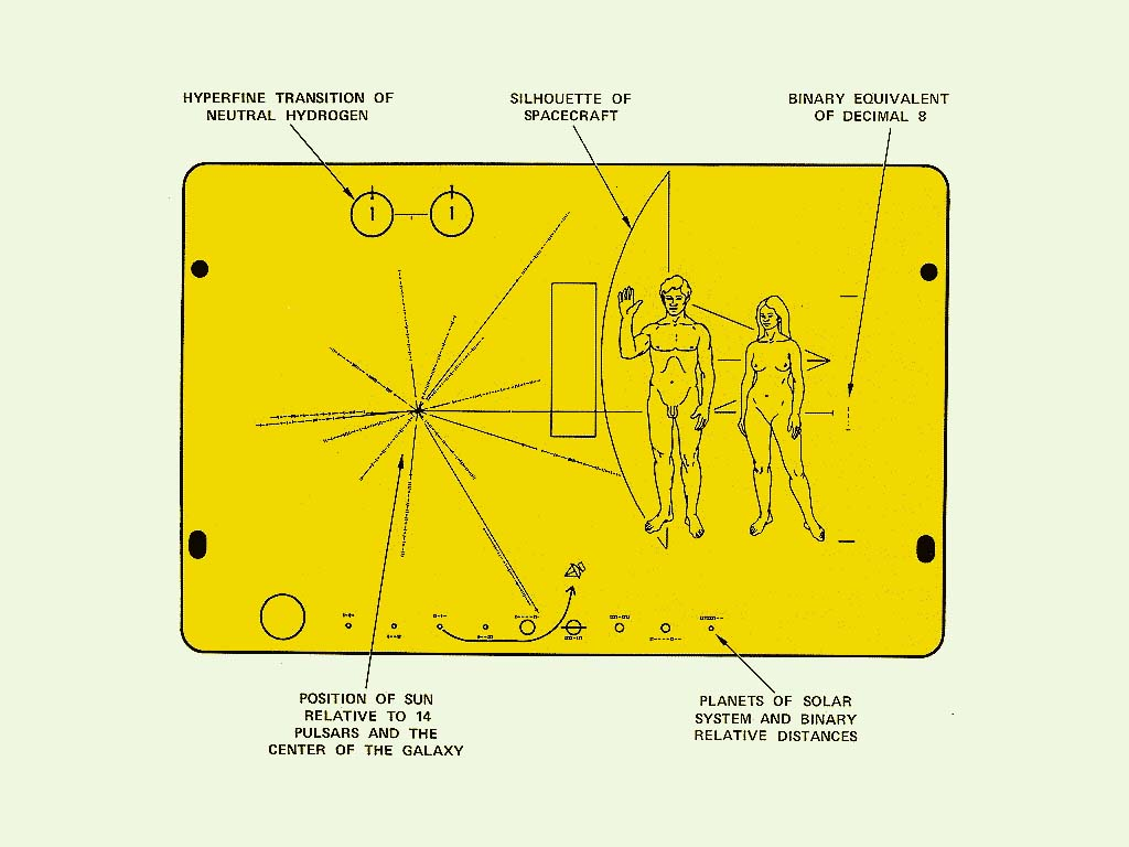 voyager 1 plaque - photo #11